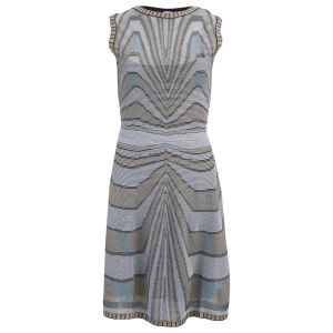 M Missoni Women's Knitted Dress - Grey