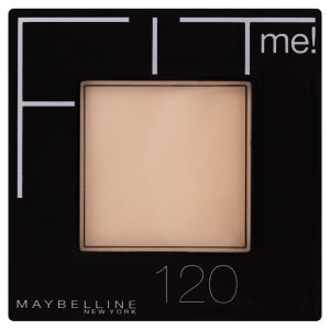 Maybelline New York Fit Me! Pressed Powder - 120 Classic Ivory (9g)