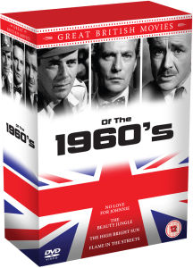 1960's Great British Movies Box Set: Peter Finch, John Mills and Dirk Bogarde