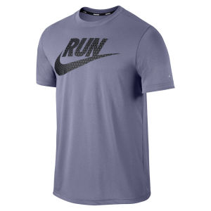 Nike Men's Legend Run T-Shirt - Iron Purple