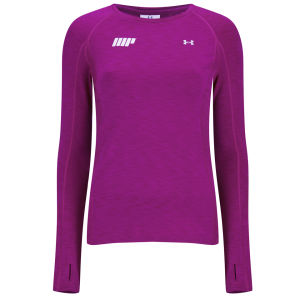 Damen Coldgear® Cozy Crew Long Sleeved Top - Magenta Shock