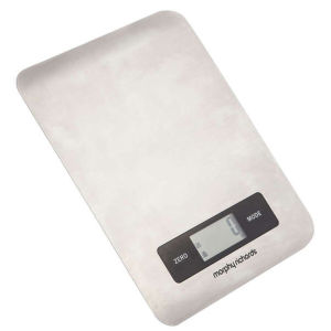 Morphy Richards 46185 Electronic Kitchen Scales - Stainless Steel