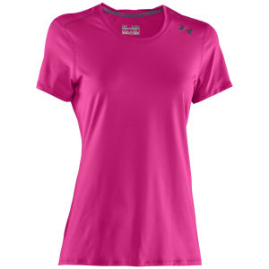 Under Armour Women's Sonic T-Shirt - Pink/Adelic