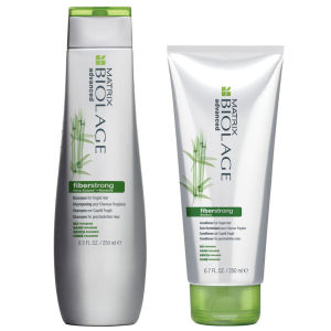 Matrix Biolage FiberStrong Shampoo und Conditioner