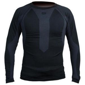 Polaris Torsion Long Sleeve Baselayer - Black/Charcoal