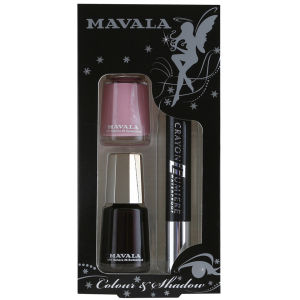 Mavala Colour and Shadow Set 1 - Pink/Black
