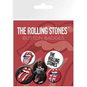 The Rolling Stones Lips - Badge Pack