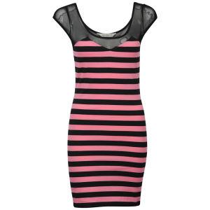 Chickster Women's Berkant Striped Dress - Pink