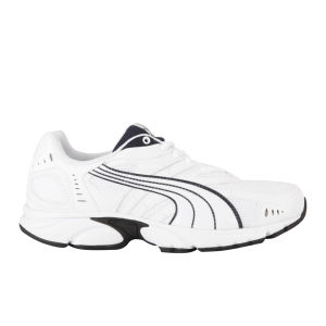 Puma Men's Xenon Running Trainers - White/Navy/Silver