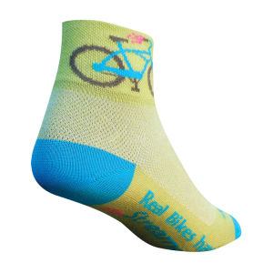SockGuy Women's Streamers Cycling Socks