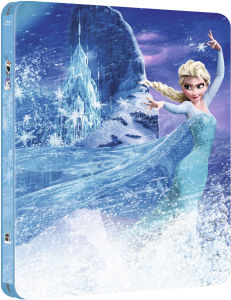 Die Eiskönigin - Völlig verfroren 3D - Zavvi exklusives Limited Edition Steelbook (Disney Kollektion #12) (enthält 2D Version)