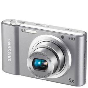 Samsung ST68 Digital Camera - Silver (16MP, 5x Optical, 2.7 Inch LCD) - Grade A Refurb
