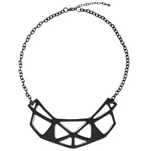Vero Moda Women's Hallun Necklace- Black