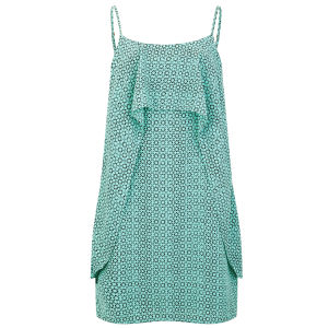Vero Moda Women's Nugga Layered Dress - Turquoise