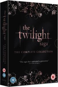 La Saga Crepúsculo: La Colección Completa (Edición Extendida de Amaenecer - Parte1 incl.)