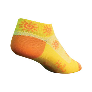 SockGuy Women's Sunshine Cycling Socks