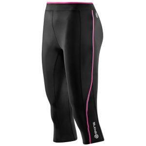 Skins Women's A200 3/4 Tights - Black/Pink