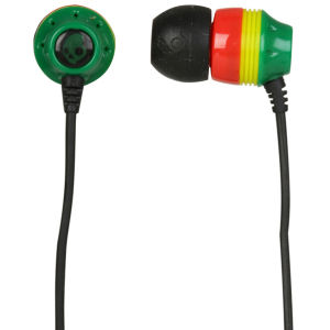 Skullcandy  Ink'd 2.0 Earphones - Rasta