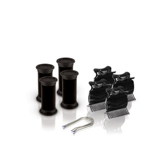 Diva Session Instant Heat 25mm Rollers, Clips & Pins Pack of 4