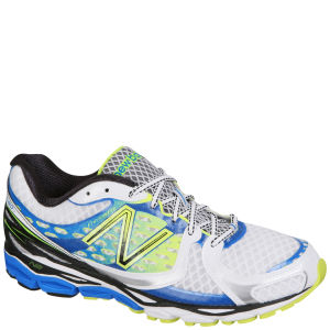New Balance Men's M1080 v3 Neutral Running Trainer - White/Blue