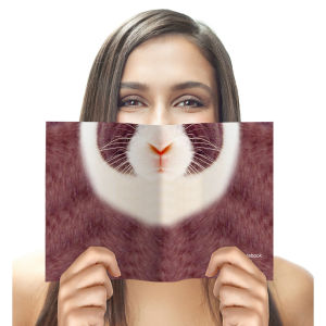 Animal Face Notebook - Rabbit