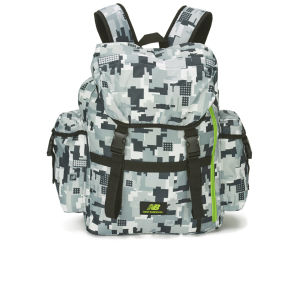 New Balance AOP Backpack - Silver/Grey/Lime Camouflage