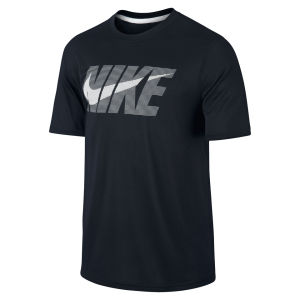 Nike Men's Legend Swoosh Short Sleeve T-Shirt - Black