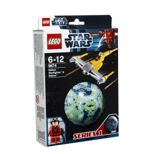 LEGO Star Wars: Naboo Starfighter & Naboo (9674)