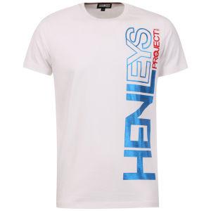 Henleys Men's Exploit T-Shirt - White/Blue