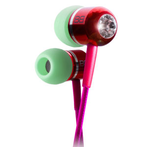 BassBuds Fashion Collection Ohrhörer mit Swarovski Element, Harmony