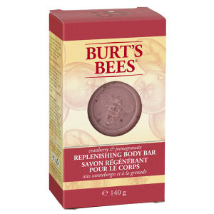 Burt's Bees Body Bar - Cranberry & Pomegranate 140g