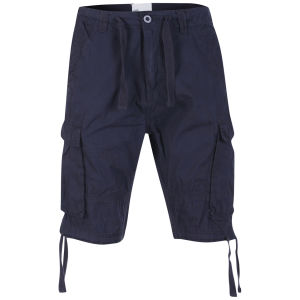 55 Soul Heren Spirit Shorts - Marineblauw
