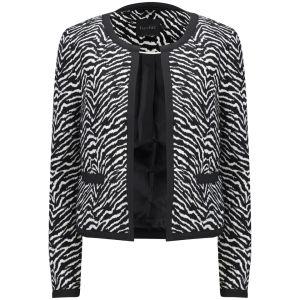 Gestuz Women's Zeniba Blazer - Black/white