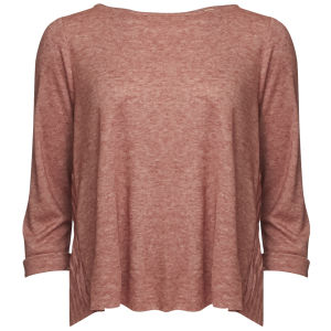 Levi's Made & Crafted Women's Long Sleeved Fluxus T-Shirt - Rosewood