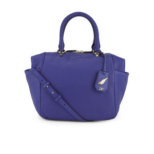 Diane von Furstenberg Women's Sutra Leather Wing Tote Bag - Blue