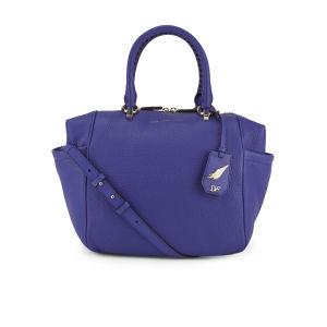 Diane von Furstenberg Women's Sutra Leather Wing Tote Bag - Blue