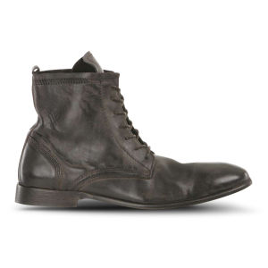H Shoes by Hudson Men's Swathmore Calf Leather Boots - Black