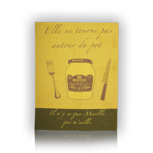 Mustard Tea Towel