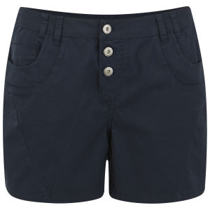 VILA Women's Cila Boyfriend Shorts - Navy