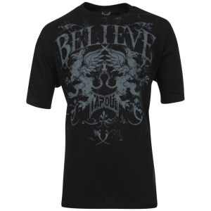 TapouT Men's Believe Griffin T-Shirt - Black