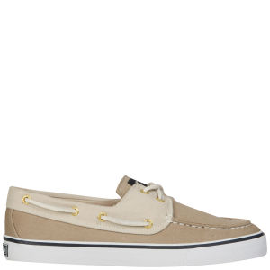 Sperry Women's Bahama 2-Eye Canvas Shoe - Stone/Light Pink