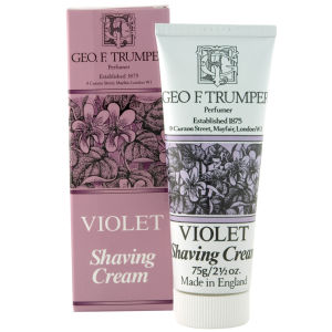 Trumpers Violet Soft Shaving Cream - 75g Tube