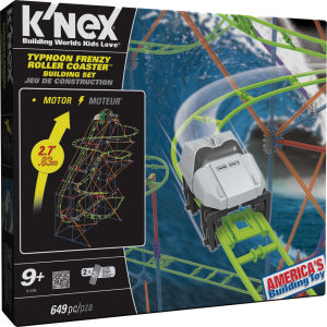 K'NEX Typhoon Frenzy Roller Coaster (51438)