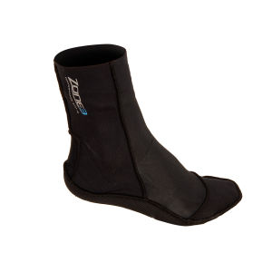 Zone3 Unisex Swim Socks - Black