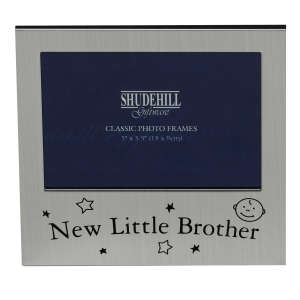 New Little Brother Silver Frame (5x3)