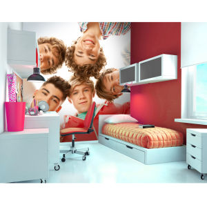One Direction Circle Wall Mural