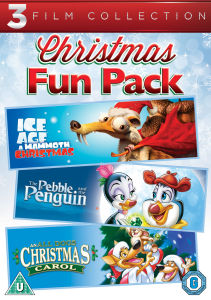 All Dogs Christmas Carol / Pebble and Penguin / Ice Age: A Mammoth Christmas