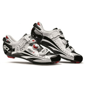Sidi Ergo 3 Carbon Vernice Cycling Shoes - White/Black