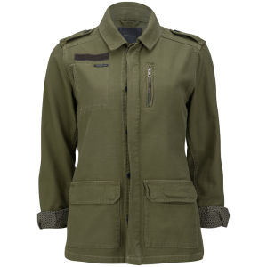 Maison Scotch Women's Military Jacket - Military