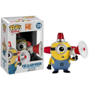 Despicable Me Fire Alarm Minion Funko Pop! Figur